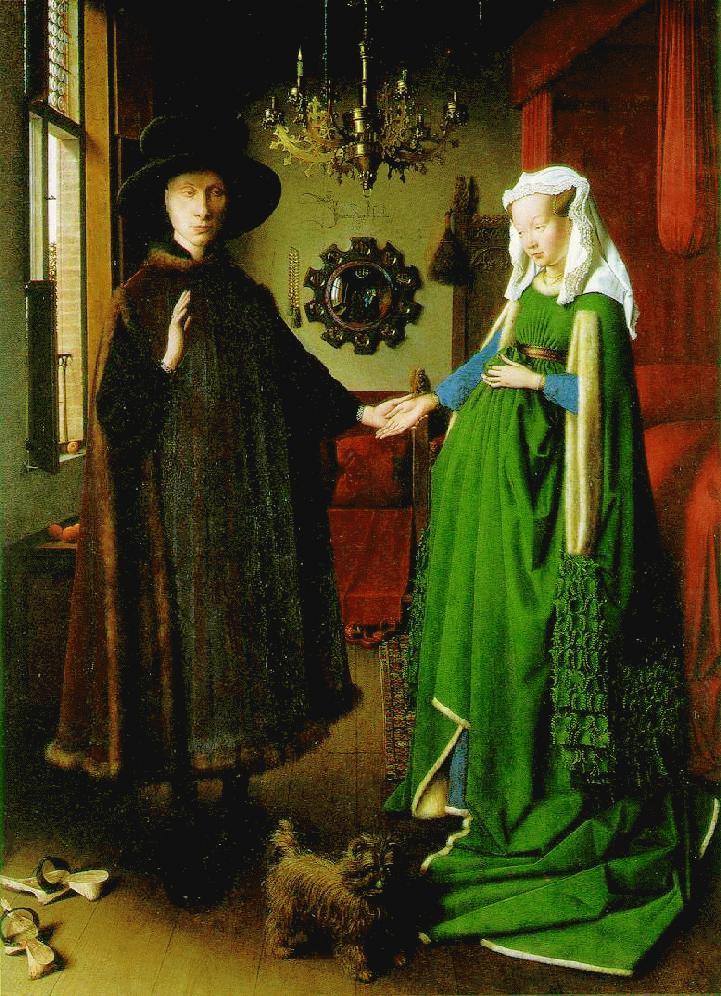 Commentary on the Arnolfini Wedding by Jan Van Eyck, 1434 Essay